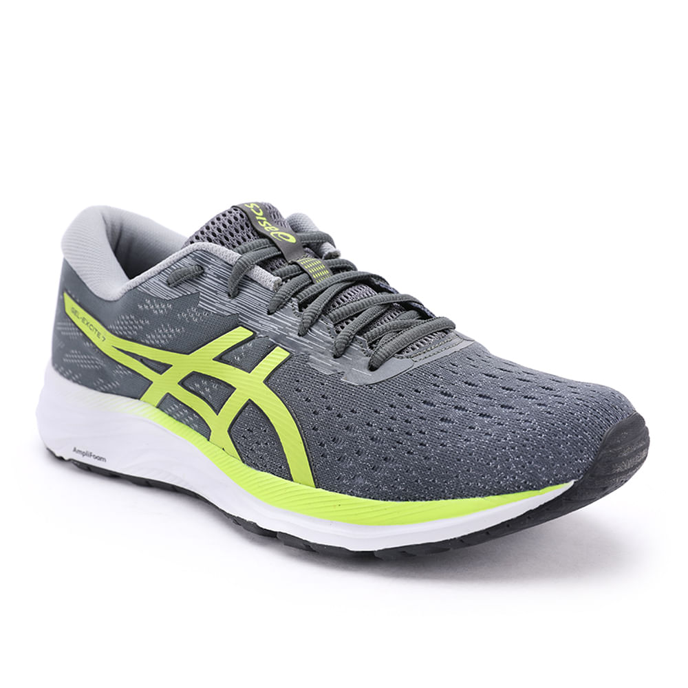 TENIS-GEL-EXCITE-7-1011A906-021-GREY-LIME-38----------------------------------------------------------------------------