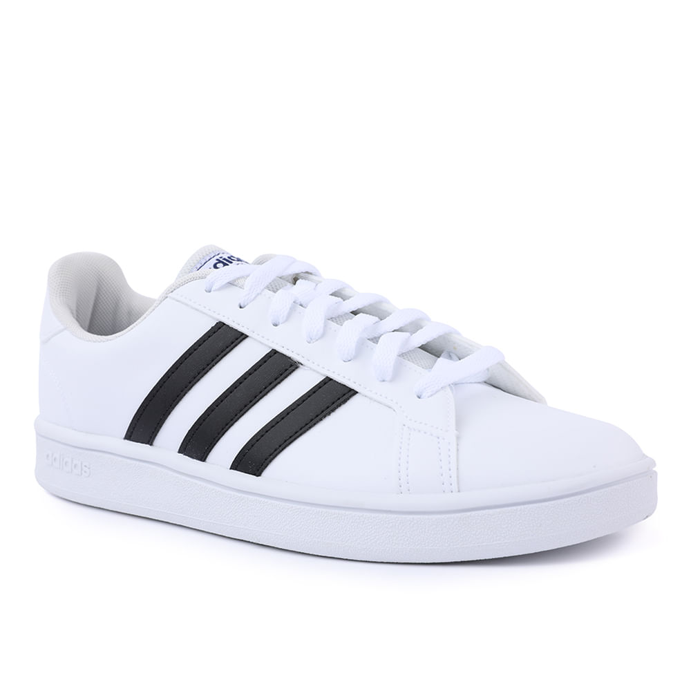 TENIS-GRAND-COURT-BASE-M-EE7904-WHT-BLK-BLUE-37