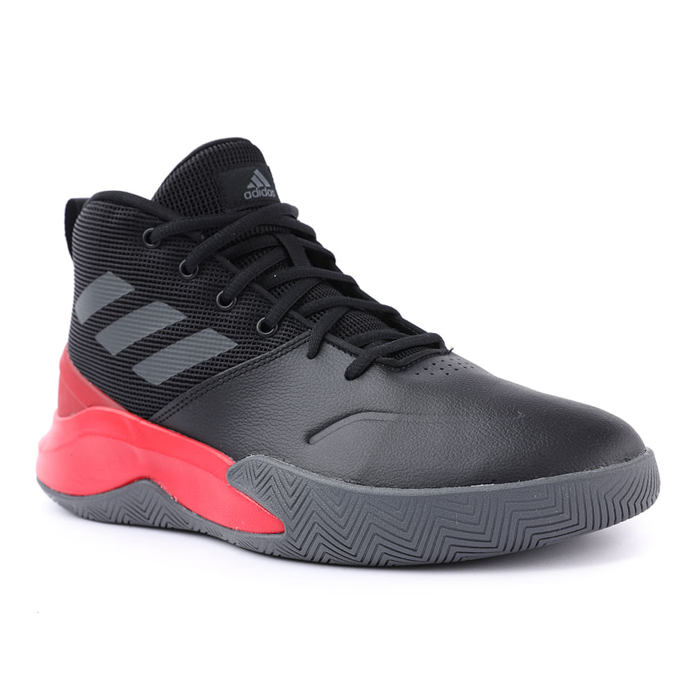 TENIS-OWN-THE-GAME-EG0951-BLK-GRY-SCRLT-38
