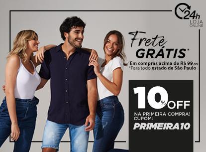 Frete Grátis + 10%
