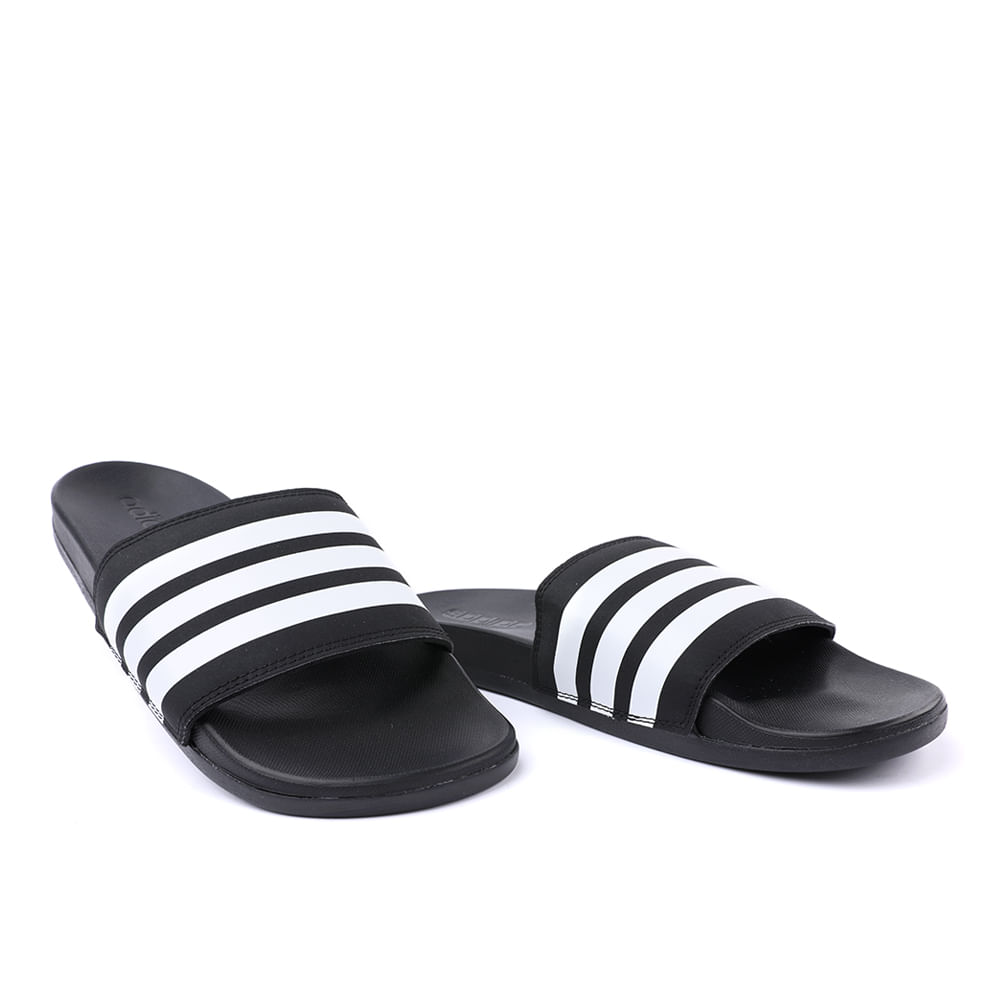 CHINELO-ADILETTE-CONFORT-AP9971-BLACK-WHITE-36-37