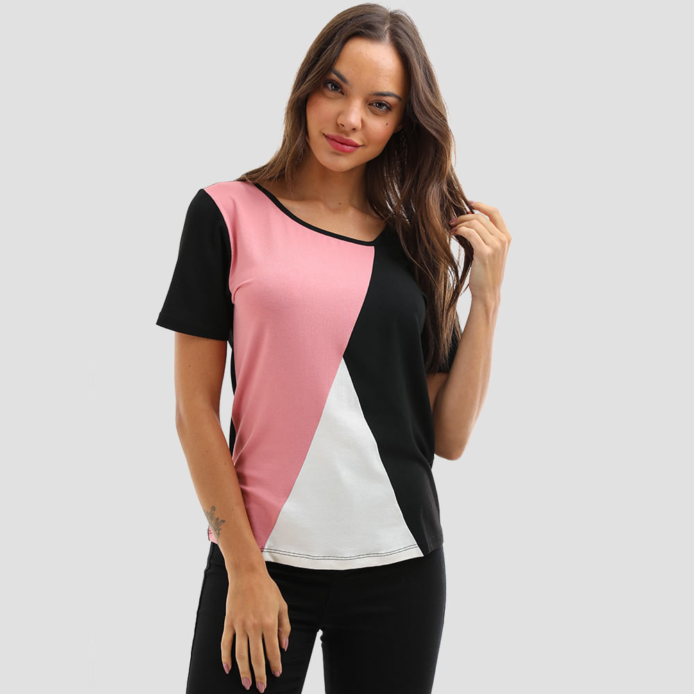 T-SHIRT-TRICOLOR-TRIANGULO-200115-ROSE-G