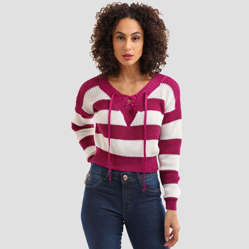 TRICOT-CROPPED-LISTRA-AMARRACAO-DY82-ROXO-P